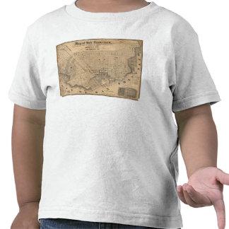 Map of San Francisco T-shirts