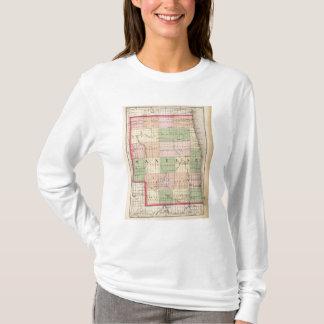 Map of Sanilac County, Michigan T-Shirt