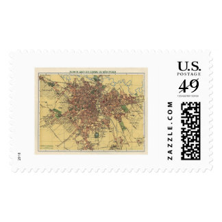 Map of Sao Paulo by Cococi 1913 Postage