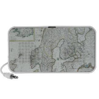 Map of Scandinavia iPod Speaker