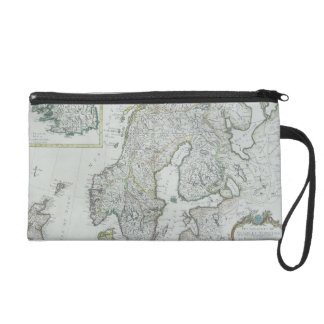 Map of Scandinavia Wristlet