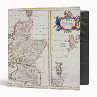 Map of Scotland, c.1700 3 Ring Binder