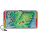 Map of Scotland iPhone Speakers