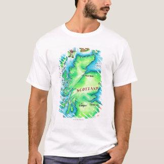 Map of Scotland T-Shirt
