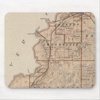 Map of Scott County, Minnesota Mouse Pad