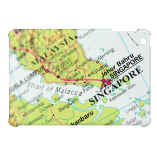 Map of Singapore Cover For The iPad Mini