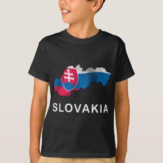 Map Of Slovakia T-Shirt