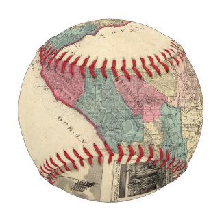Map of Sonoma County California Baseball