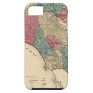 Map of Sonoma County California iPhone SE/5/5s Case
