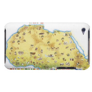 Map of South Africa 2 iPod Case-Mate Case