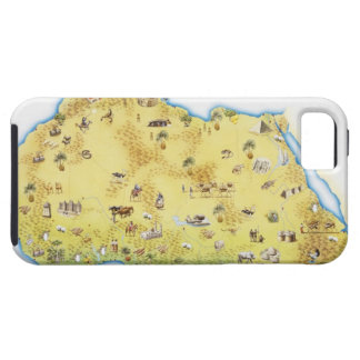 Map of South Africa 2 iPhone SE/5/5s Case