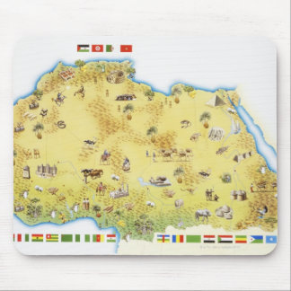 Map of South Africa 2 Mouse Pad