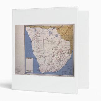 Map of South Africa (December 1961) 3 Ring Binder