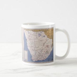 Map of South Africa (December 1961) Coffee Mug
