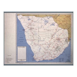Map of South Africa (December 1961) Letterhead