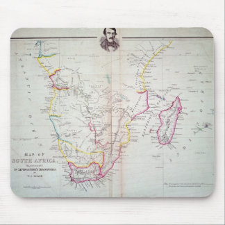 Map of South Africa illustrating Mouse Pad