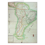 Map of South America, 1777 Card