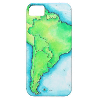 Map of South America 2 iPhone 5 Cover