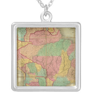 Map of South America 2 Jewelry