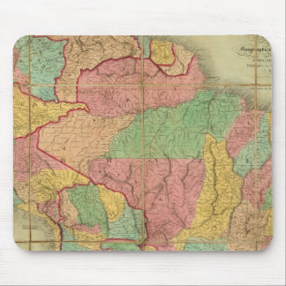 Map of South America 2 Mouse Pad