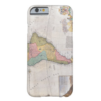 Map of South America 3 Barely There iPhone 6 Case
