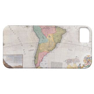Map of South America 3 iPhone SE/5/5s Case