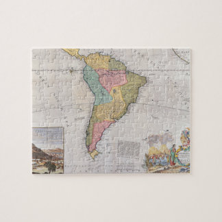 Map of South America 3 Jigsaw Puzzle