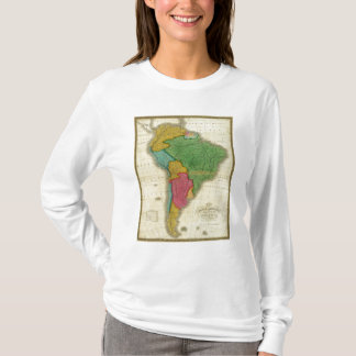 Map of South America 3 T-Shirt