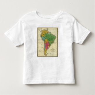 Map of South America 3 Toddler T-shirt