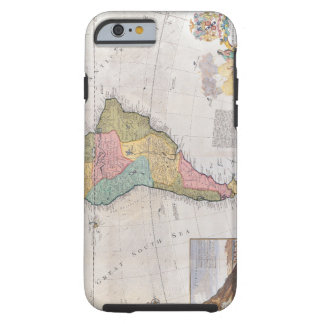 Map of South America 3 Tough iPhone 6 Case