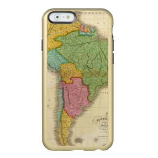 Map of South America 4 Incipio Feather® Shine iPhone 6 Case