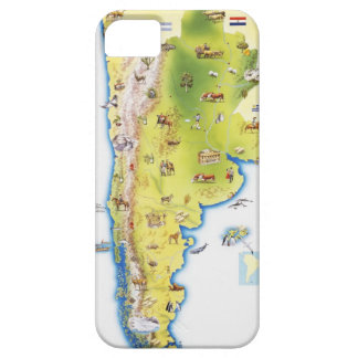 Map of South America iPhone SE/5/5s Case