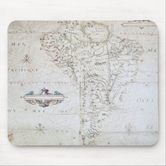 Map of South America Mouse Pads