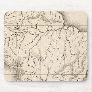 Map of South America Mousepads