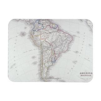 Map of South America Rectangular Photo Magnet
