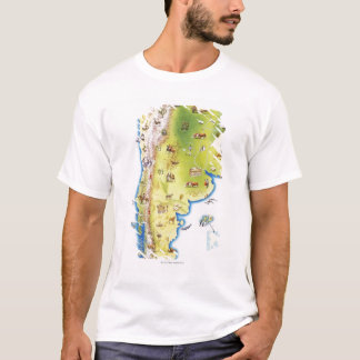 Map of South America T-Shirt