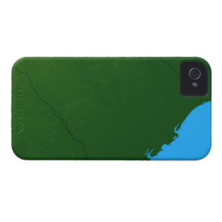 Map of South Carolina 2 Case-Mate iPhone 4 Case