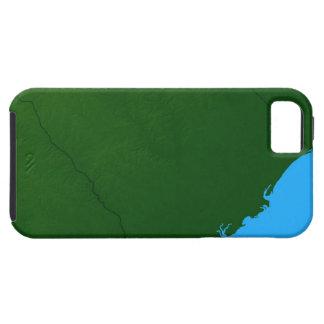 Map of South Carolina 2 iPhone SE/5/5s Case