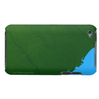 Map of South Carolina 2 iPod Case-Mate Case