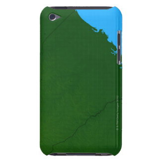 Map of South Carolina 2 iPod Touch Cover