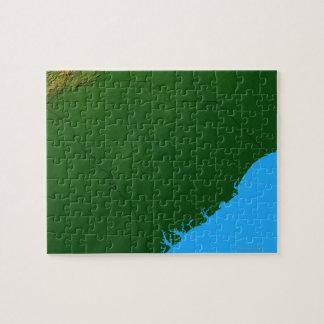 Map of South Carolina 2 Jigsaw Puzzle