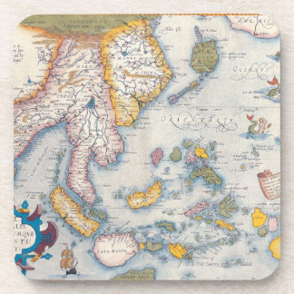 Map of South East Asia 2 Beverage Coaster
