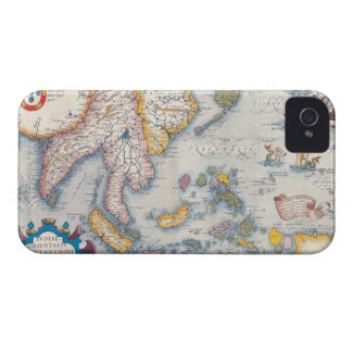 Map of South East Asia 2 Case-Mate iPhone 4 Case