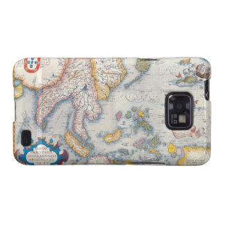 Map of South East Asia 2 Galaxy SII Cases