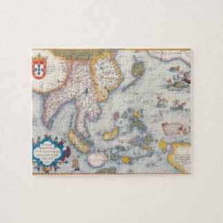 Map of South East Asia 2 Jigsaw Puzzle