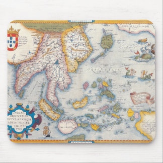 Map of South East Asia 2 Mousepad