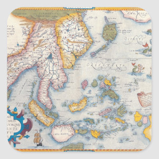 Map of South East Asia 2 Stickers