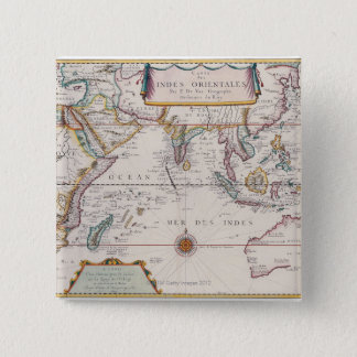 Map of South East Asia Button