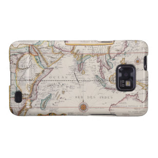 Map of South East Asia Galaxy SII Case