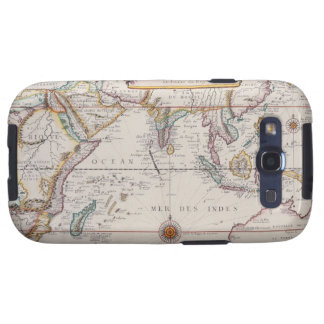 Map of South East Asia Galaxy S3 Case